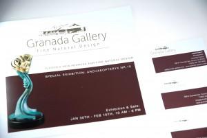 Granada Gallery: Ausstellungskatalog, Visitenkarten