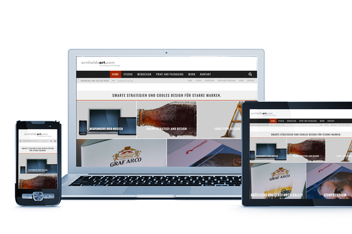 Webarnholdsart: Web-Design + Web-Development